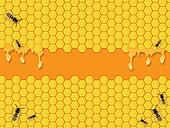 Bees Background