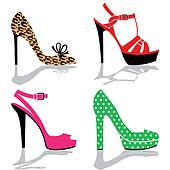 Women shoe collection
