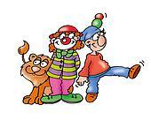circus, clown,