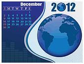 December Bussines Calendar.