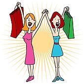 Best Girl Friends Love Shopping