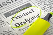 Product Designer Job Vacancy.