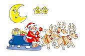 christmas reindeer,