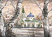 Voznesensky cathedral, Russia