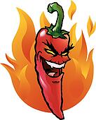 Jalapeno Pepper Clip Art - Royalty Free - GoGraph