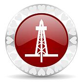 drilling valentines day icon