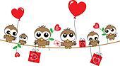 owls love header announcement