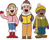 Kids Caroling
