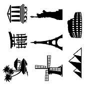 landmarks icons