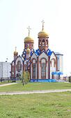 Temple of St. Seraphim Sarovskogo.