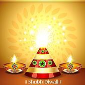 Diwali Cracker Background