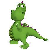 dragon 3d cartoon
