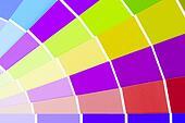 Vector colour card