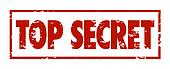 Top Secret Words Red Grunge Stamp Classified Confidential Inform
