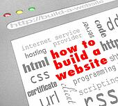 How to Build a Website - Web Screen