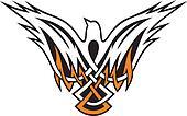 Bird Celtic icon