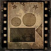 grunge film strip and movie project