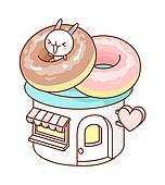 A doughnut shop