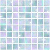 Blue Opal Mosaic seamless