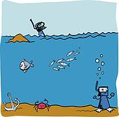 Oceanography Clip Art - Royalty Free - GoGraph