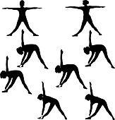 Yoga - Trikonasan