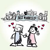 Love - couple - Just married
