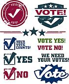 Voting Stamps