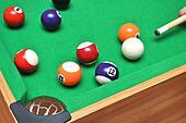 Playing the billiard