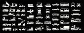Transport - vector icons