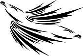flying eagles tattoo