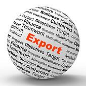 Export Sphere Definition Shows Abroad Selling And Exportation