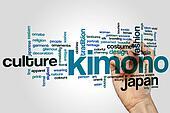 Kimono word cloud
