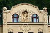 Art Nouveau facade Carlsbad