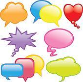 funny dialog balloons