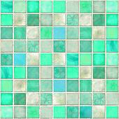 Aquamarine Tile Mosaic