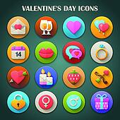 Bright Icons: Valentine's Day