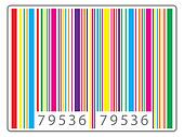 Multi colored barcode