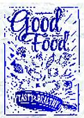Poster good food ink