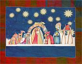 Illustration of Christian Christma