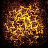 grunge stars fabric texture