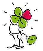 funny four leaf trefoil