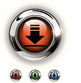 Download icon, button