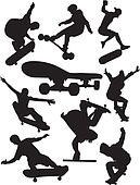 Extreme sports - skateboarding