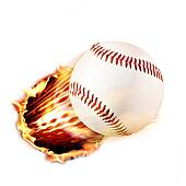 Baseball through fire