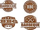 Barbecue Stamps