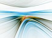 colorful linear horizon