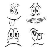 Doodle emoticons