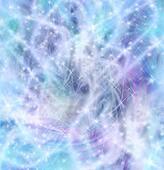 Fairy-Like Sparkling Background