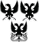 eagle crest griffin illustration