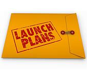 Launch Plans Yellow Envelope Start New Business Company Secrets